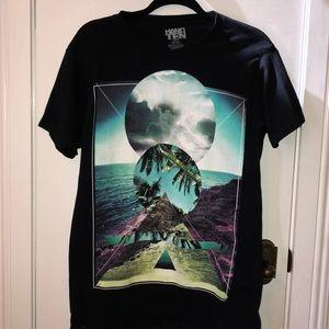 Hang Ten Black size Med. tee shirt